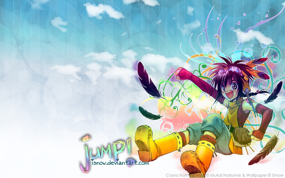 Wallpaper: 'JUMP' +Anima by iSnow