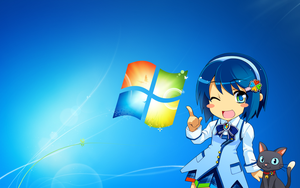 Windows 7 Tan by CuteAndy