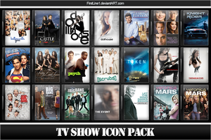 TV Show Icon Pack 3 by FirstLine1