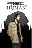 Comic Cover: Just Human by Icarus-Syndrome