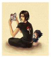 Uchiha Brothers by lalami02