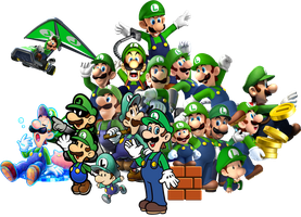 Luigi's 30 Amazing Years! by Kulit7215