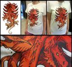 Dragon T-Shirt by sandara