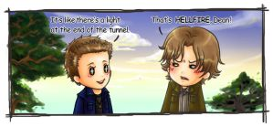 Supernatural - hell fire by howabout