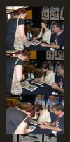 Summer Glau Autographing by jeminabox