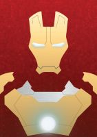 Ironman Poster_MARK 42 by junxiang92