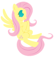 Fluttershy Minimal by flamevulture17