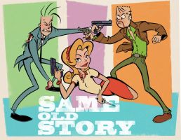 Same Old Story title card by sosnw