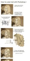 Tuto : hair coloring XD by NineInjections
