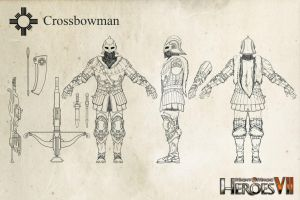 Haven Crossbowman (Heroes of Might and Magic VII) by m0zch0ps