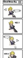 Cloud does the unthinkable. by Reychielia