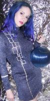 Blue hair stock 20 by LilithsStock