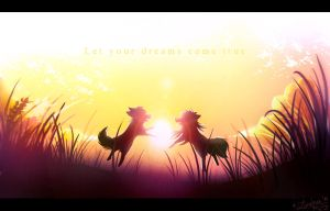 Golden Paradise by blue-foxy