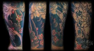 in progress japanese sleeve by WillemXSM
