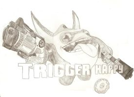 Trigger Happy by Dragon-of-Faith