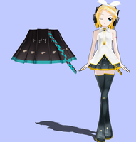 MMD orginal Lat skirt DL by RedHoozuki