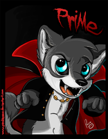 Halloween badges: Prime by pandapaco