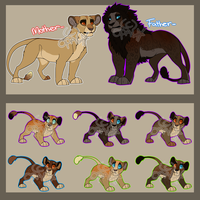 Lion Breedable .:Pairing #1:. .:CLOSED:. by opaleyedwolf