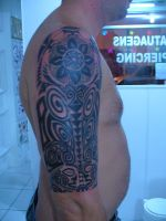 maori tattoo by sandrorstattoo