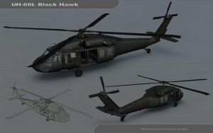 UH-60L Black Hawk by Awiz