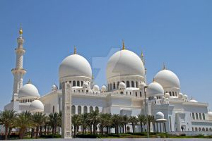 Abu Dhabi - Grand Mosque 2 by LeighWhittaker