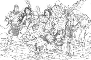 JLA SWORD AND SORCERY by TheComicFan