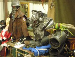 fallout houston BIG PILE of props by drnightshade