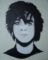 Billie Joe Armstrong painting by Menikaio