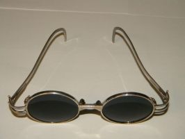 Sterling silver sunglasses. by gokusonwing0