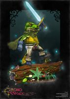 'Frog' - Chrono Trigger by Driddle