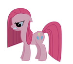 Pinkamena growl vector by Durpy