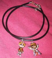 Cardcaptor Sakura necklace by Lovelyruthie