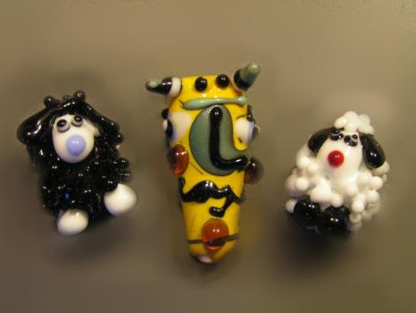 Lampwork fun by nenne