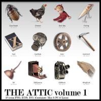 The Attic vol. 1 by MugenB16