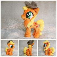 Filly Applejack by Spark-Strudel