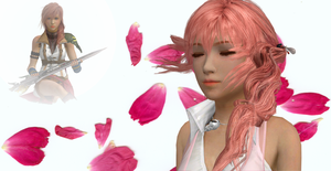 Listen to your Heart Serah by SilverMoonCrystal