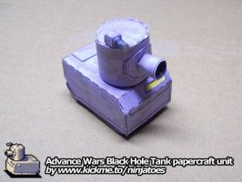 Papercraft soup can tank by ninjatoespapercraft