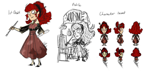 Don't Starve Rough Character Progress - Wonne by vickie-believe