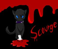Scourge fan-drawing by silverlionwolf