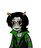 Fantroll Talksprite (1 of 3) by CarpalTunnelLuv