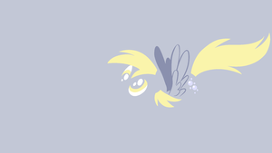 Derpy Hooves Minimal Wallpaper by Kitana-Coldfire