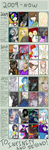 2009 to 2012 Improvement meme by ParkaPassions