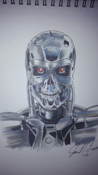 Terminator by JamieNTrout