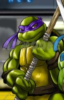 TMNT Donatello-by AJ Moore by GudFit