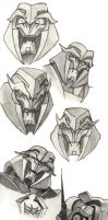 Megatron and Starscream comp by Swashbookler