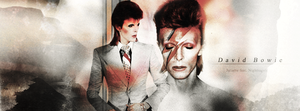 David Bowie | Collab w/ Juliette. by Silviabilia