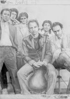 Dire Straits 1985 WIP 3 by Yankeestyle94