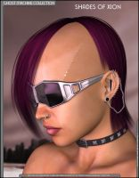 Shades of Xion P3 Cyberpunk by inception8