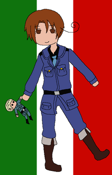 Hetalia: Italy by angel-clan