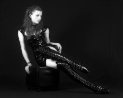 Ballet boots- 02 by NeciaNavine